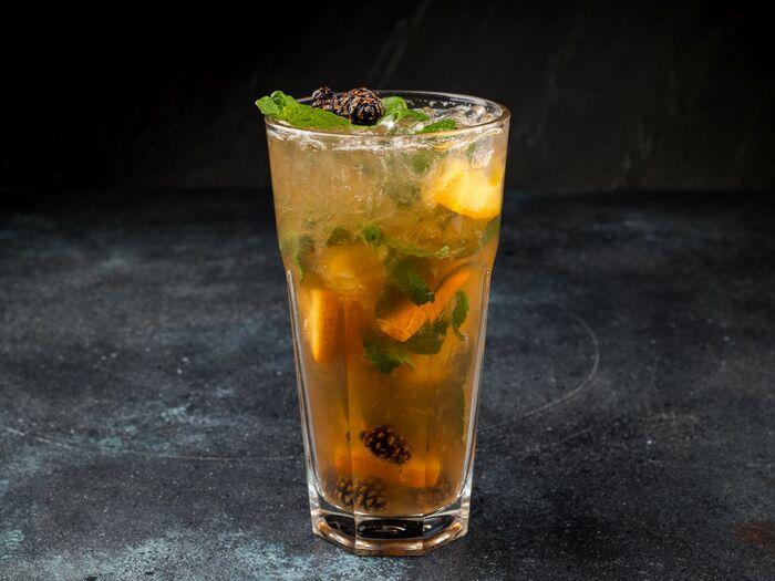 лимонад на сосновых шишках