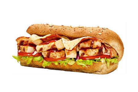 Сэндвич Свинина барбекю