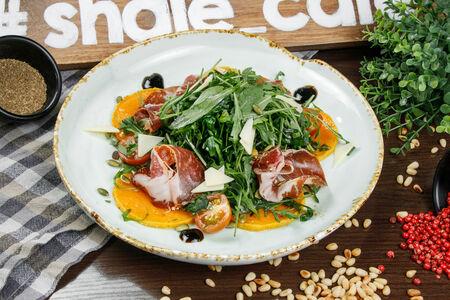 Салат из запеченной тыквы