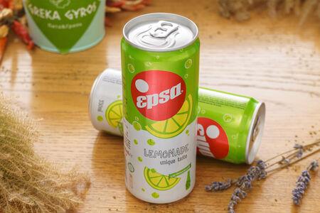 Лимонад газированный Epsa