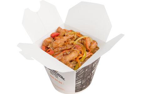 Харусаме с курицей по-пекински