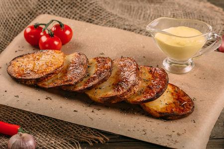 Картофель на мангале