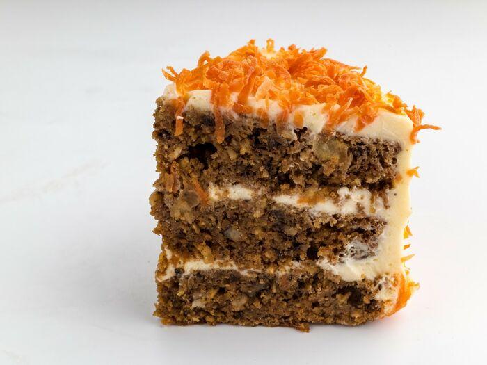 Кусочек Морковного торта