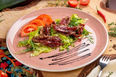 Сочный ростбиф с микс-салатом