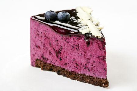 Пирожное Ягодный мусс