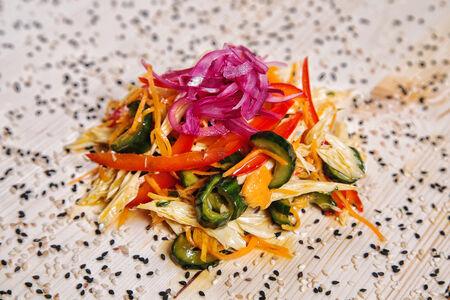 Салат Овощной со спаржей
