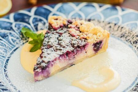 Десерт Черничный пай
