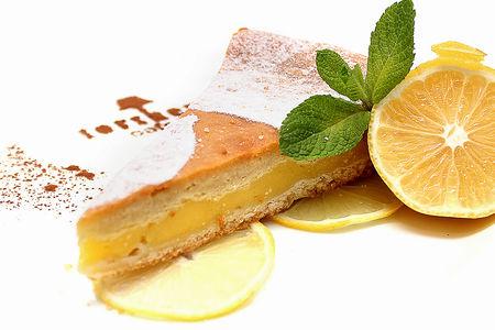 Пирог Лимонный с кремом