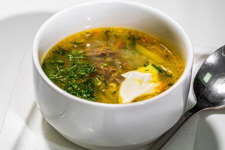 Суп Агырчи шыд с говядиной