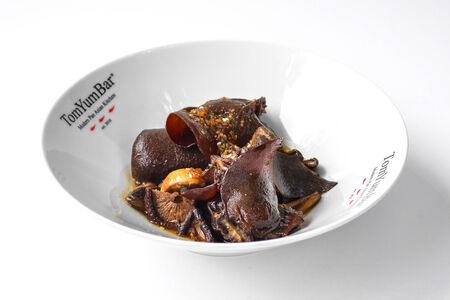 Теплый салат Три гриба по-пекински