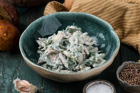 Салат Соко с курицей и грибами