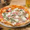 Фото к позиции меню Пицца с сыром буррата
