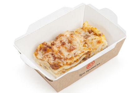 Лазанья Болоньезе с сыром пармезан
