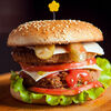 Фото к позиции меню Двойной чизбургер