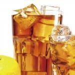Фирменный напиток Ice Tea имбирно-лаймовый