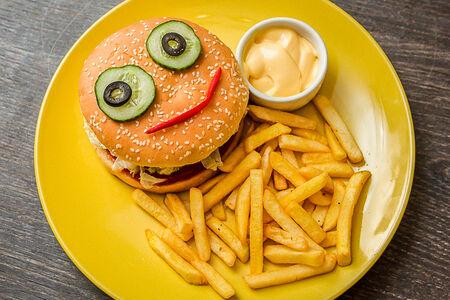 Гамбургер от Гарри Поттера