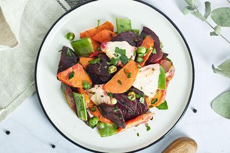 Салат Винегрет из печеных овощей