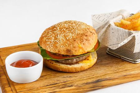 Бургер Биф-энд-Порк