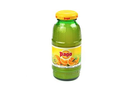 Паго сок апельсиновый 0,2 л