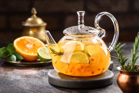 Чай Облепиховый с цитрусом