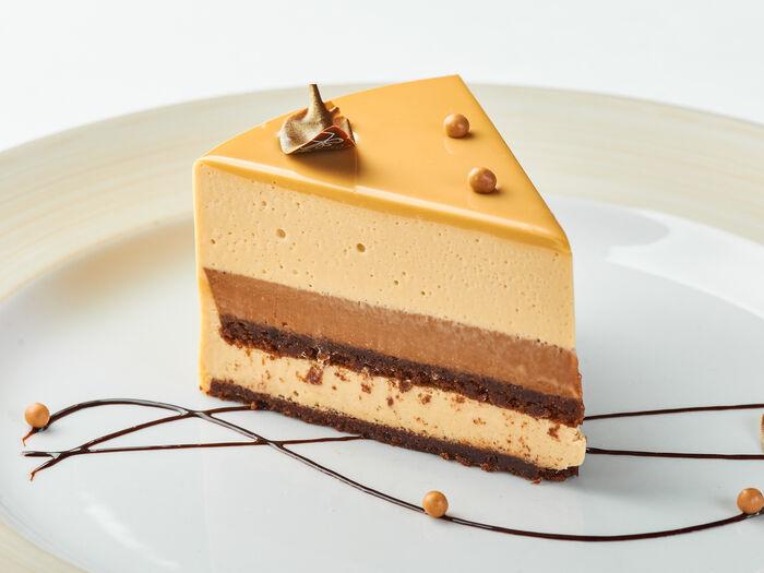 Торт Дольче с карамельно-кофейным вкусом