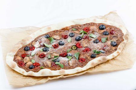 Сладкая пицца Нутелла