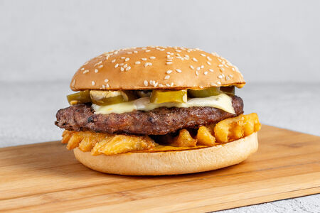 Бургер Острый хрустящий Вау