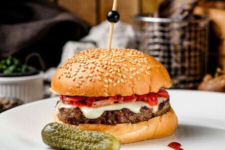 Испанский чизбургер