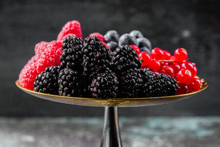Садовые ягоды