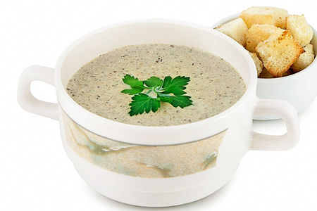 Суп-крем из шампиньонов