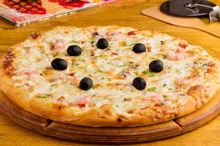 Пицца Морское ассорти