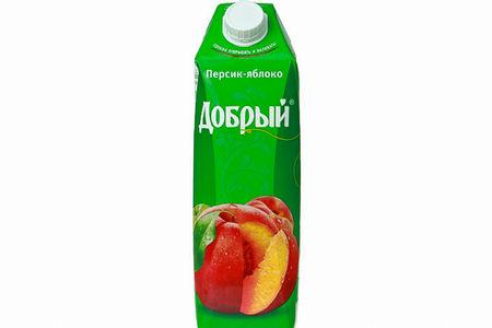 Сок Персик-яблоко