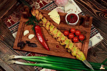 Люля- кебаб из картошки