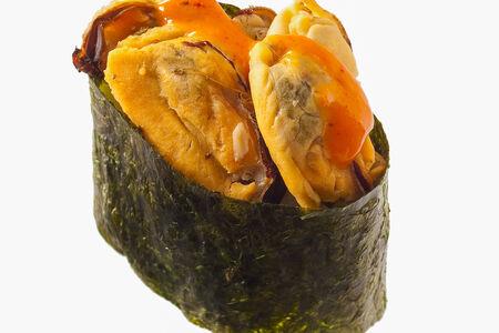 Спайс-суши с мидиями