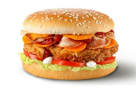 Большой Чикенбургер Спайси
