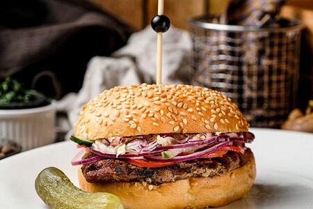 Стейк бургер