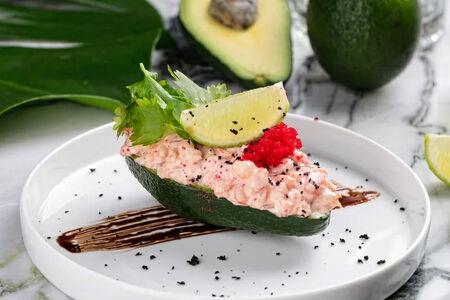 Фаршированный авокадо