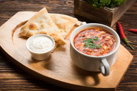 Суп Классическая мясная солянка