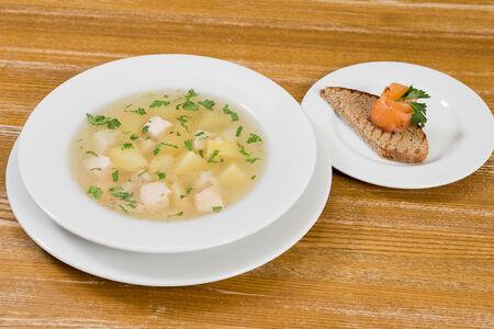 Суп Рыбный ароматный