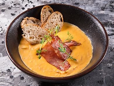 Гороховый суп на бычьих хвостах с тамбовским окороком