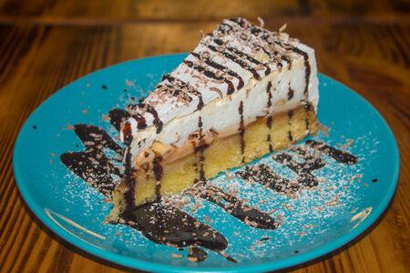 Десерт Яблочный полёт
