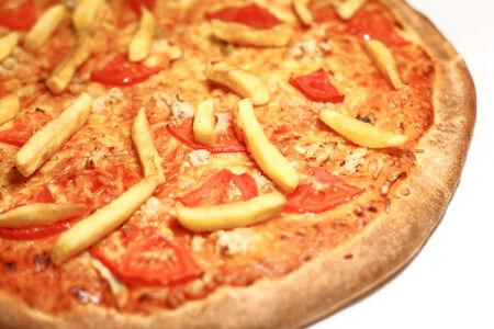 Пицца на тонком тесте Микс