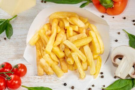 Картофель фри большой