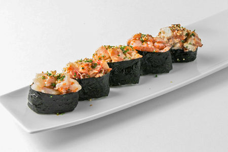 Суши Запеченный лосось