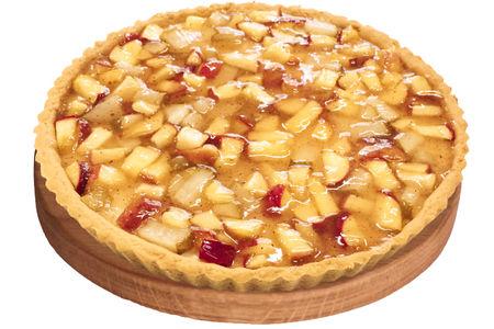 Тарт с яблоками