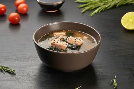 Суп Сяке лосось