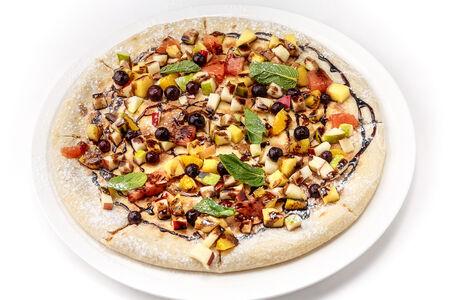Пицца Фруктовая с шоколадным соусом