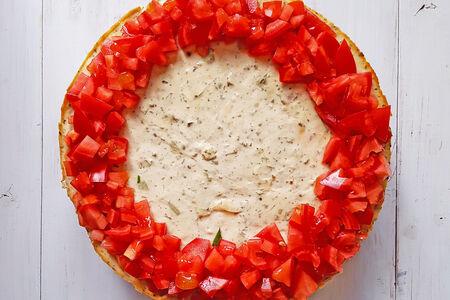 Сырный пирог-чизкейк Острый томат