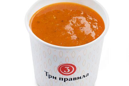 Томатный крем-суп с сельдереем