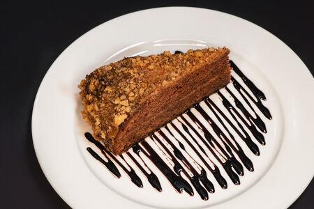 Торт Шоколадно-ореховый